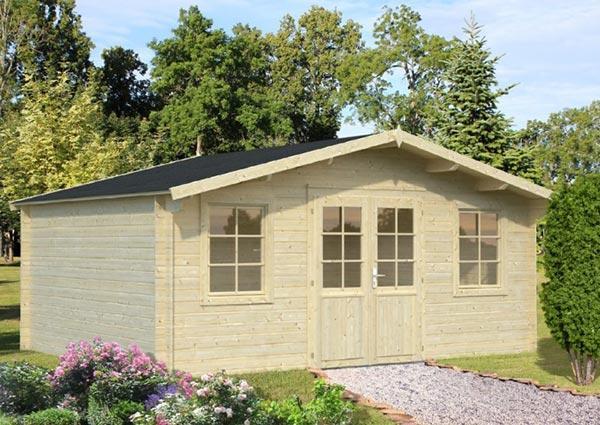 Gartenhäuser mit Satteldach