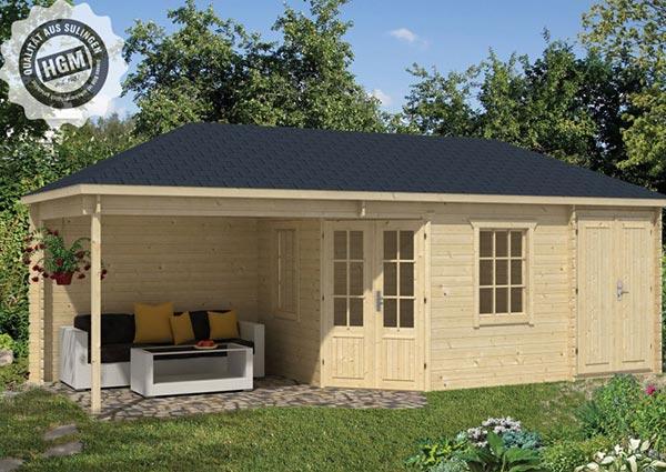 Gartenhäuser mit Walmdach