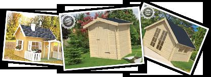Holz-Nebengebäude