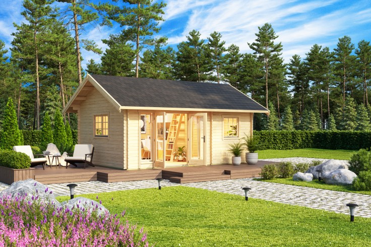 Gartenhaus Caroline 2.1