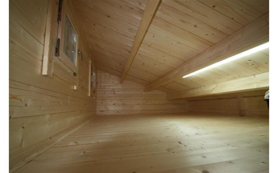 Stauraum im Dach des Mallorca 44 Freizeithauses
