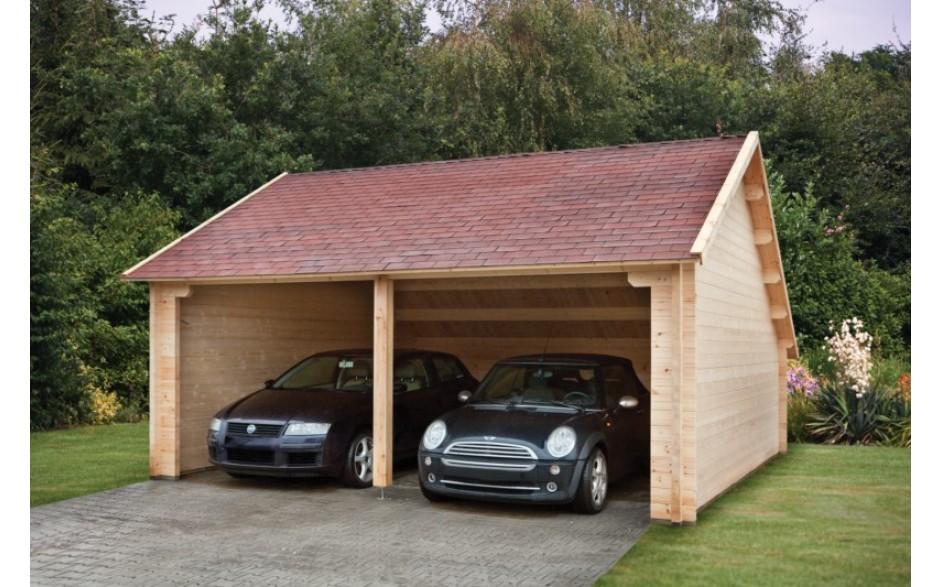 Garage Leinfelden mit zwei Stellplätzen