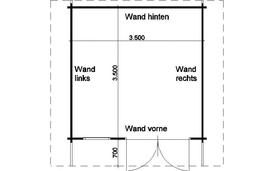 Walsrode 70 bei HGM – Gartenhaus nach Maß