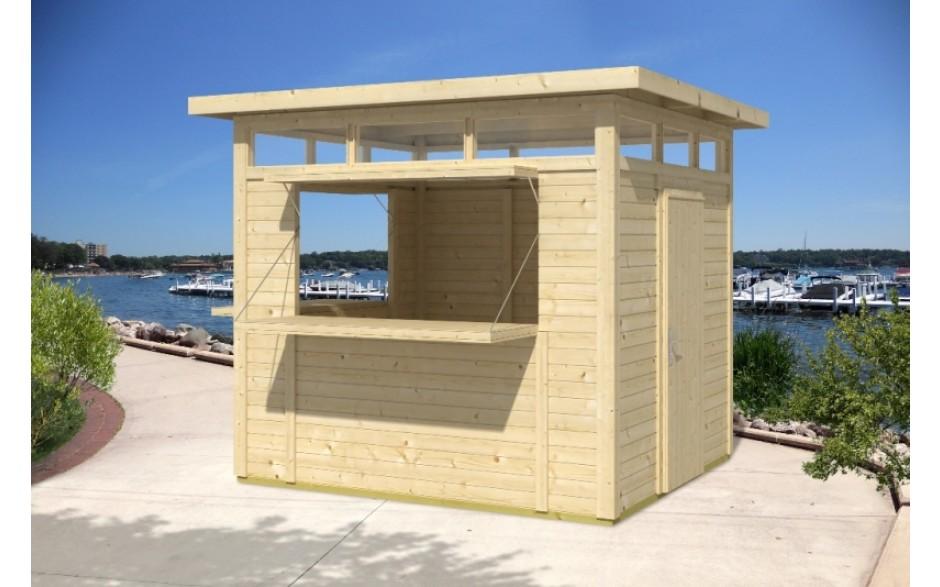 verkaufsstand kiosk hgm gartenh user. Black Bedroom Furniture Sets. Home Design Ideas