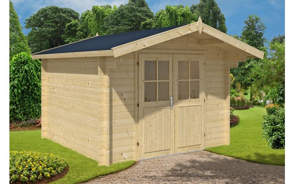 das günstige Gartenhaus Tobi aus Holz