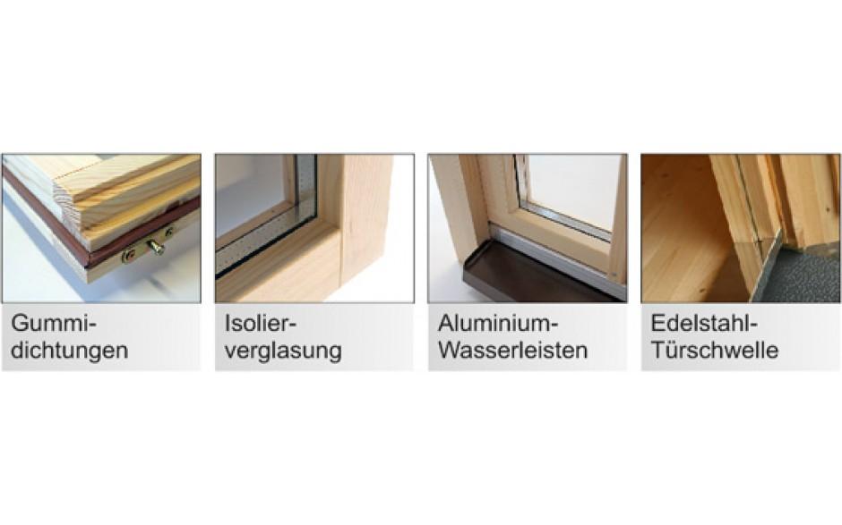 Details für optimale Qualität vom Holzgartenhaus Walsrode 70