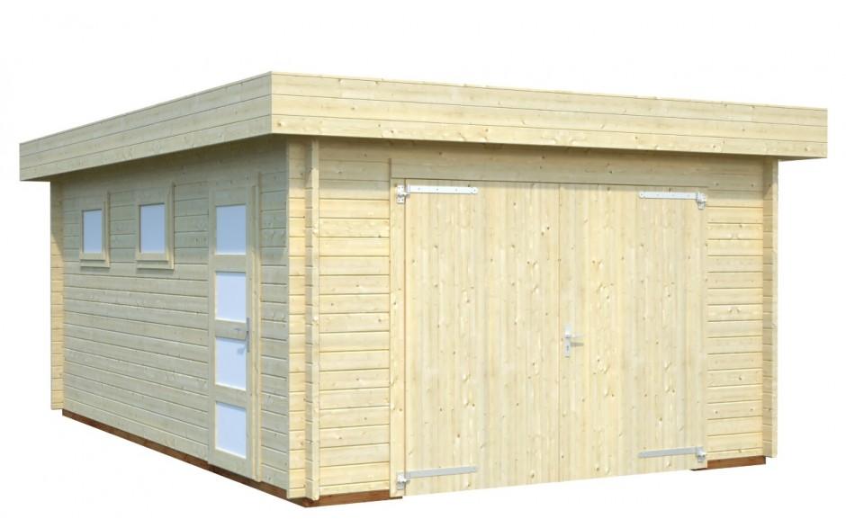 Garage Bergheim mit Pultdach
