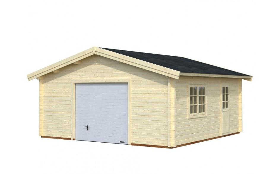 Garage Gummersbach D mit optional erhältlichem Schwingtor