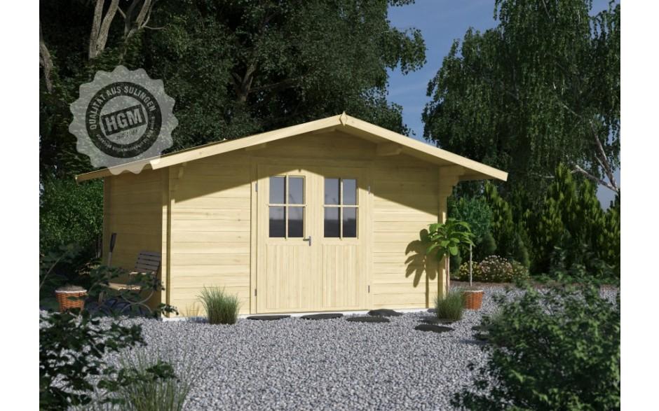 Holzgartenhaus Lasse mit Doppeltür