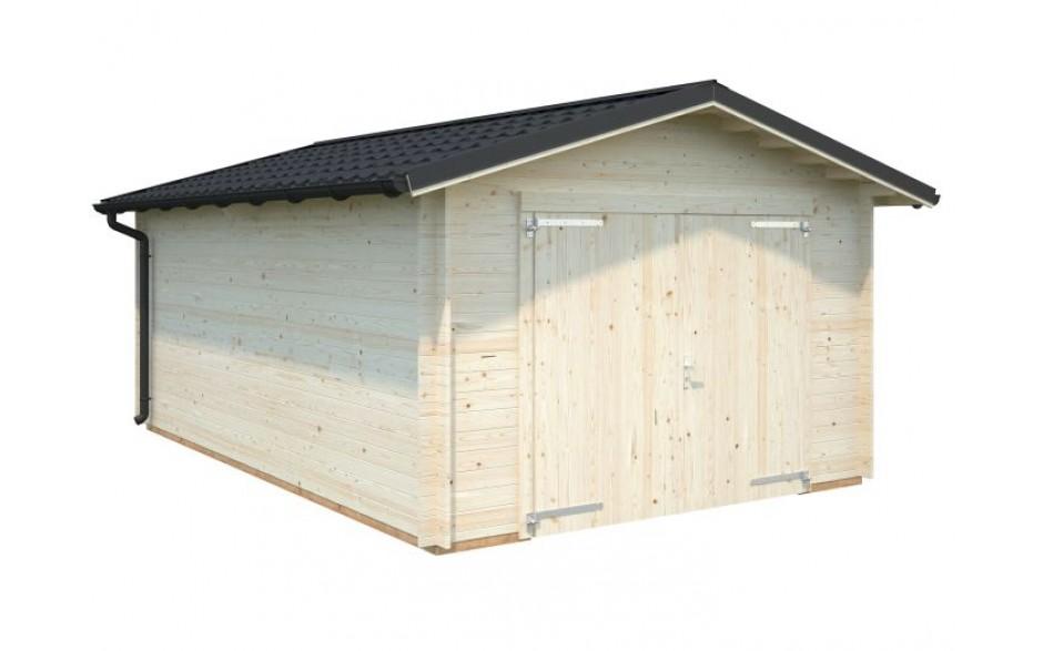 Garage Tomas 19.2 mit Holztor
