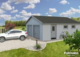 Garage Andre 44.7 - Rahmenbau