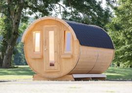 Tonnendach-Gartenhaus hier online bestellen >