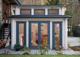 Gartenhaus Langeoog 58-C -isolierverglast