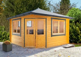 Gartenhaus Maria 44-B - isolierverglast