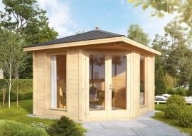 Gartenhaus Katrin 58-A -isolierverglast