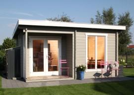 Gartenhaus Cordoba-44-A Modern -isolierverglast
