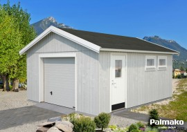 Garage Andre 21.5 - Rahmenbau