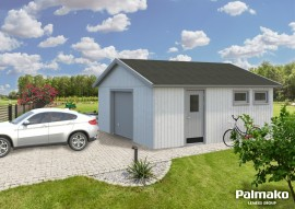 Garage Andre 28.5 - Rahmenbau