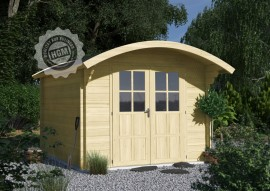 Gartenhaus Bispingen D aus Qualitäts-Fichtenholz