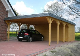 carports von gartenhaus hier ansehen. Black Bedroom Furniture Sets. Home Design Ideas