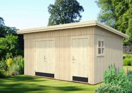 Gartenhaus Kalle 13.5 - Rahmenbau