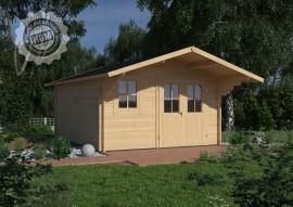 Gartenhaus Nienburg 44-D mit Boden + Isoglas
