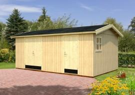 Gartenhaus Olaf 16.9 - Rahmenbau