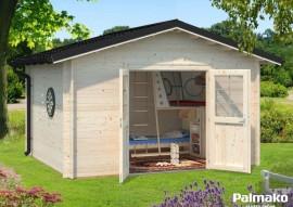 Gartenhaus Tina mit Metalldach 10.4