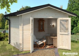 Gartenhaus Tina mit Metalldach 7.5
