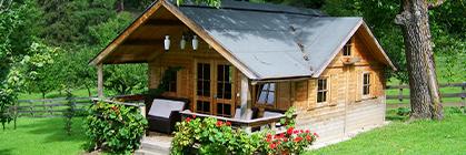 10 Gründe für ein Gartenhaus