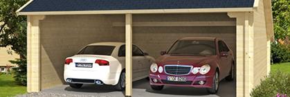 Garage aus Holz – so finden Sie die zu Ihnen passende Stellfläche