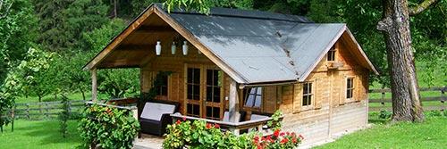 Das perfekte Gartenhaus-Modell