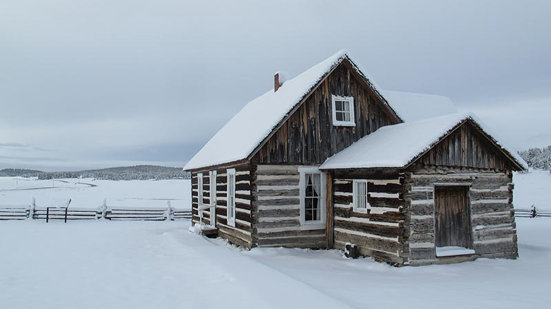 Sieben Gründe, im Winter ein Holzgartenhaus zu kaufen