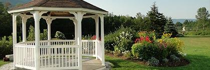 Pavillons: Das offene Holzgartenhaus