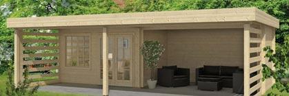 Günstige Gartenhäuser mit Pultdach: Lernen Sie die trendige Dachform kennen!