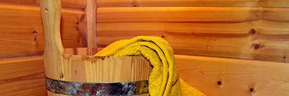 Gartenhaus mit Sauna für Ihren Wellnessmoment