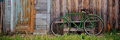 Das Gartenhaus als idealer Ort zum Unterstellen Ihrer Fahrräder