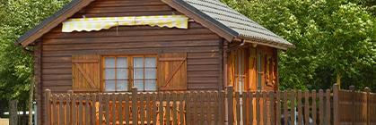 Wochenendhaus aus Holz: Der Tipp für Ihre Freizeitgestaltung